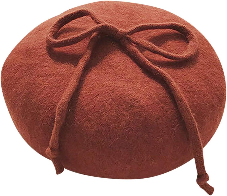 Bonnet Ladies Beret Plaid...