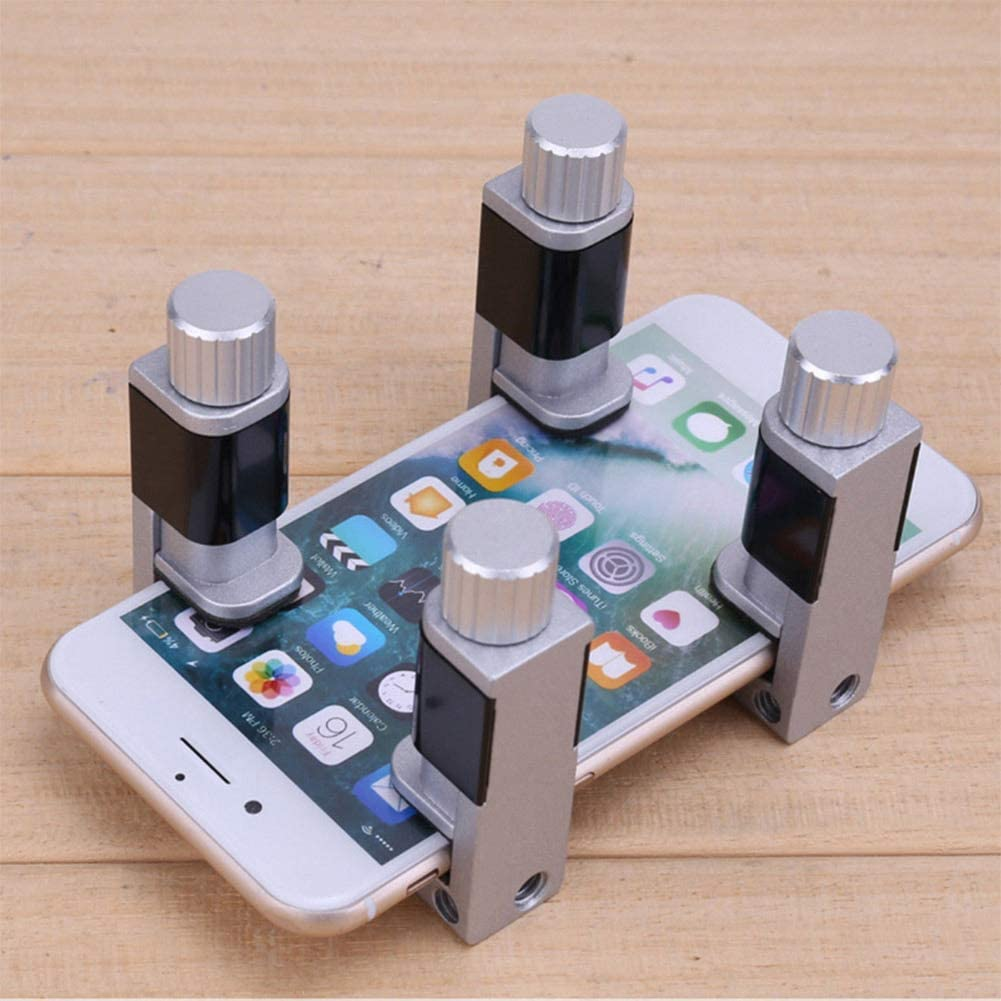 Jennles 4Pcs//Set LCD Screen Fixing Fixture Clip Fastening Clamp Adjustable for Phone Repairing