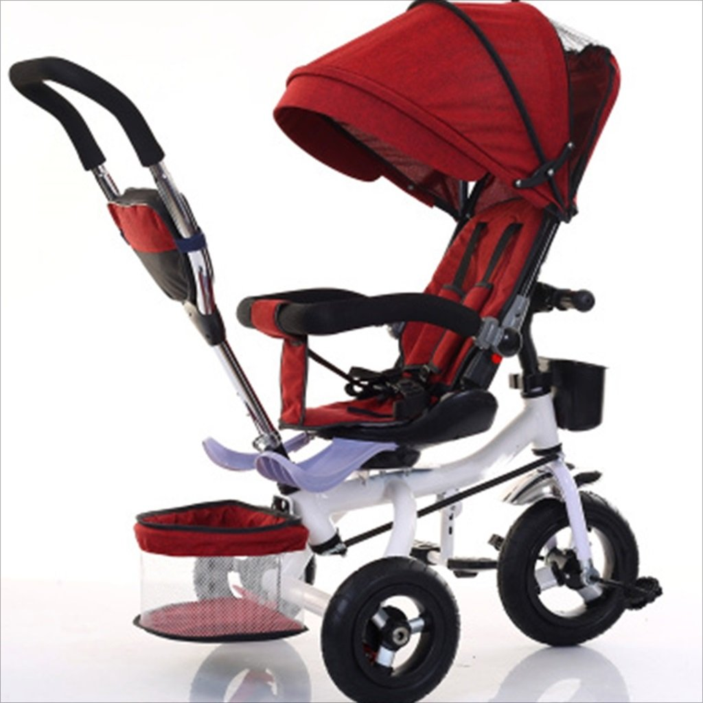 子供屋内屋外小型三輪車自転車の男の子の自転車の自転車6ヶ月-5歳の赤ちゃんスリーホイールトロリー、ダンピング/回転シート/アルミニウム合金のゴム製の車輪 (色 : 9) B07DV91QHM 9 9