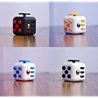 Egab Stress Relief Fidget Cube Calming Toy for Focus, Relaxation, Distraction & Improved Mood Worry & Fear - Perfect Gift for Autism, Anger, ADD, ADHD & PTSD