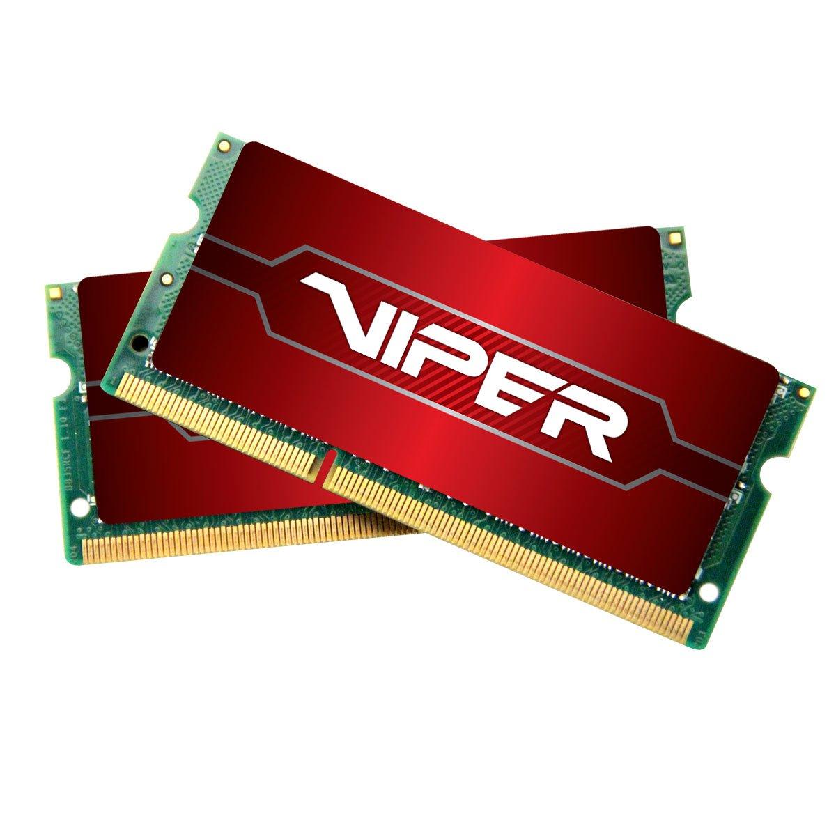 Memoria RAM 32GB Patriot Viper 4 Series (2 X 16GB) 2400MHz SODIMM DDR4 Kit (PV432G240C5SK)