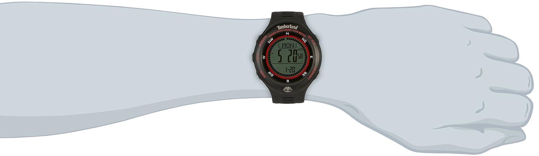 Timberland TBL.13386JPBB/01 - Reloj Digital de Cuarzo para Hombre con Correa de plástico, Color Negro: Amazon.es: Relojes