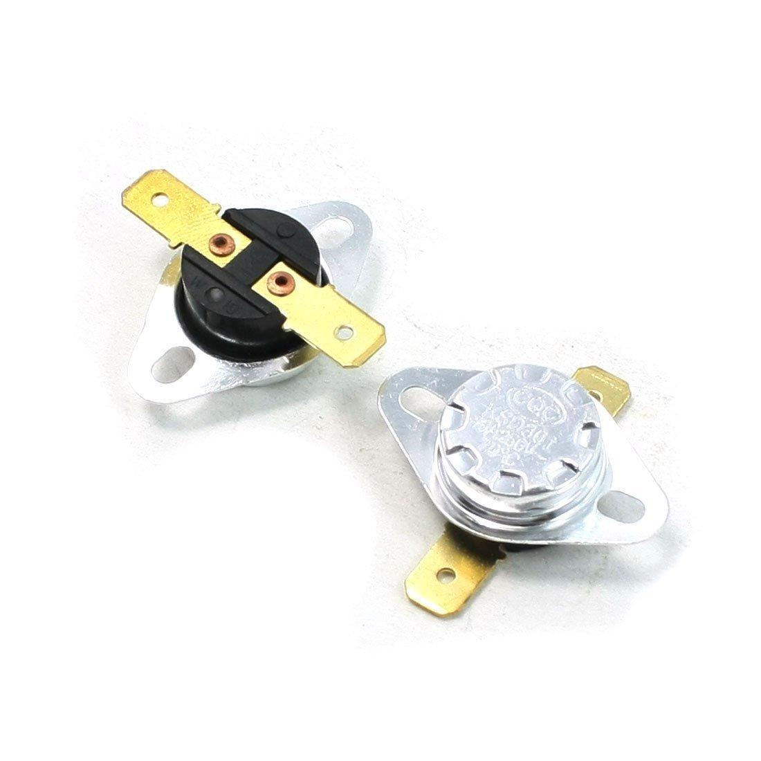 AC 250V/10A 70C NC Termostato Interruptor De Temperatura KSD301 2 Piezas: Amazon.es: Bricolaje y herramientas