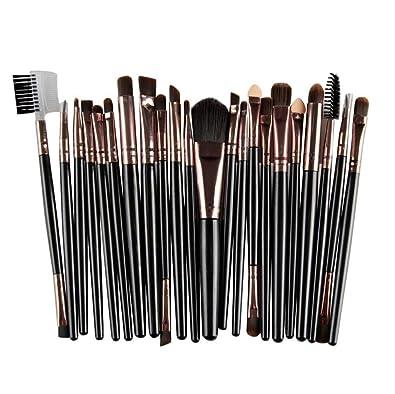 Amazon.com: Juego de brochas de maquillaje, caliente en ...