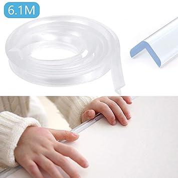 Maila 12 Stück Kantenschutz Kinderschutz Eckenschutz Kindersicherung Baby Sicherheit