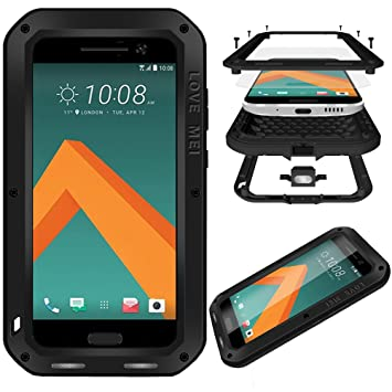 watch 5dd96 1201c HICASER HTC 10 Waterproof Case, Shockproof Snowproof: Amazon.co.uk ...