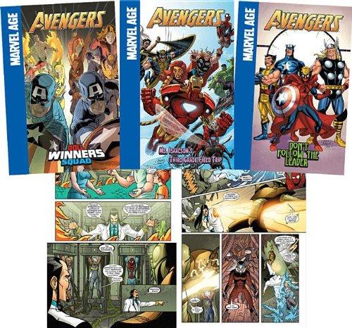 Avengers Set 2 (The Avengers Marvel Age)