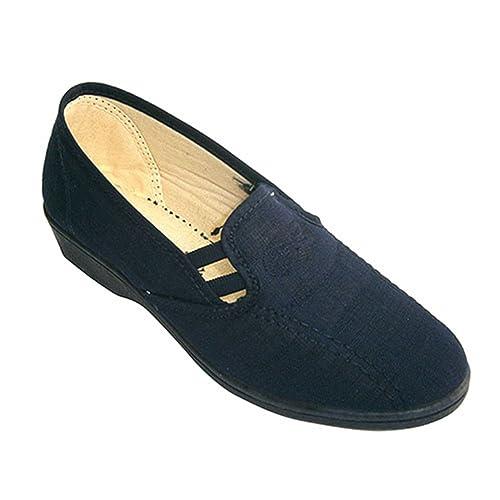 Chaussure Les Taille SOCA côtés en Bleu Marine Femme fermé Gummies qMVpGUzS