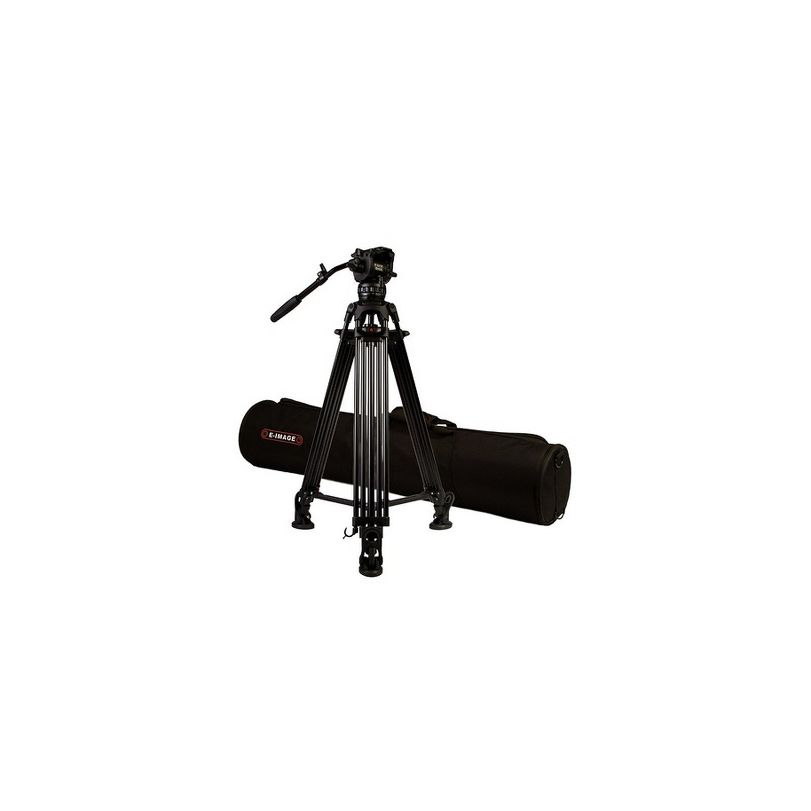 Ikan EG06A2 | Aluminum 2 Stage Tripod with GH06 Head Transport Bag by Ikan