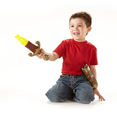 Fisher-Price Mike the Knight: Mike's Magical Transforming Sword: Toys & Games