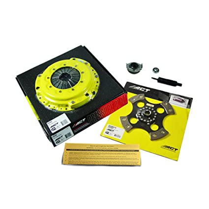 Amazon.com: ACT 4-PUCK RIGID HDR4 RACING CLUTCH KIT 90-91 HONDA CIVIC CRX 1.5L 1.6L D15 D16: Automotive