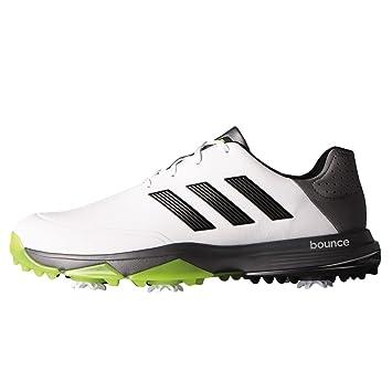 the best attitude bffda e5b95 adidas Adipower Bounce Wd, Zapatos de Golf Hombre, BlancoNegroLima, 46  Amazon.es Deportes y aire libre