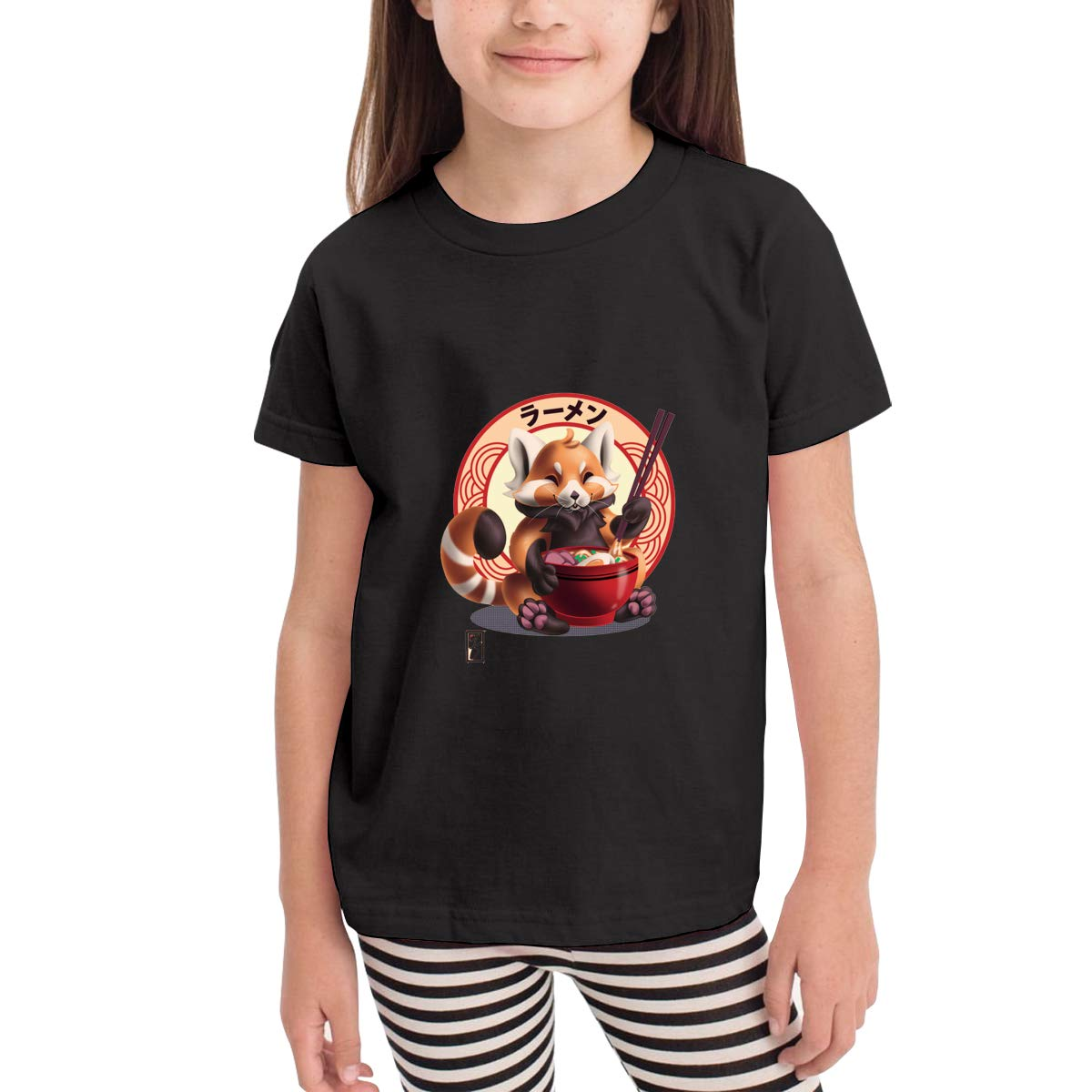 Red Panda Noms 100/% Cotton Toddler Baby Boys Girls Kids Short Sleeve T Shirt Top Tee Clothes 2-6 T