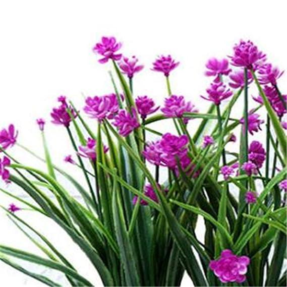 Ouqian-Home Flor Artificial Ramas Flores Simulación Flores Rural ...