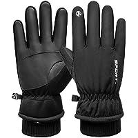 1 par de luvas térmicas de dedo inteiro para motociclismo, luvas esportivas à prova de vento, luvas de inverno para…