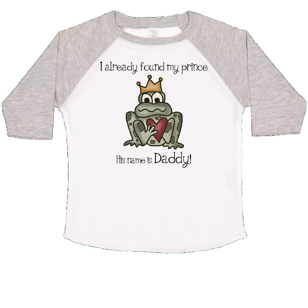 inktastic Prince Daddy Toddler T-Shirt