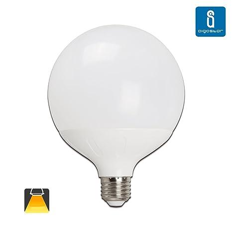 Aigostar - Bombillas led globo G120 20W (Individual, Luz Cálida)