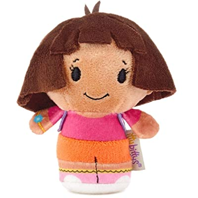 HMK itty bittys Nickelodeon Dora The Explorer Stuffed Animal: Toys & Games