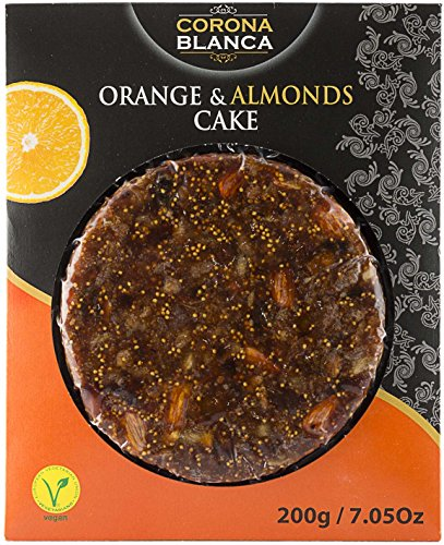 (Corona Blanca Orange and Almonds Bread Cake (Fig, Dates, Almonds and Orange) 7.05 oz ( 200 gr) )