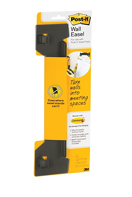 Amazon.com : Post-it Wall Easel Pad Hanger, 15 x 3-1/4 x 1-1/4 ...