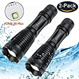 Tactical Flashlight,Waterproof 2000 Lumens XML T6 Ultra Bright LED Taclight with Adjustable Focus