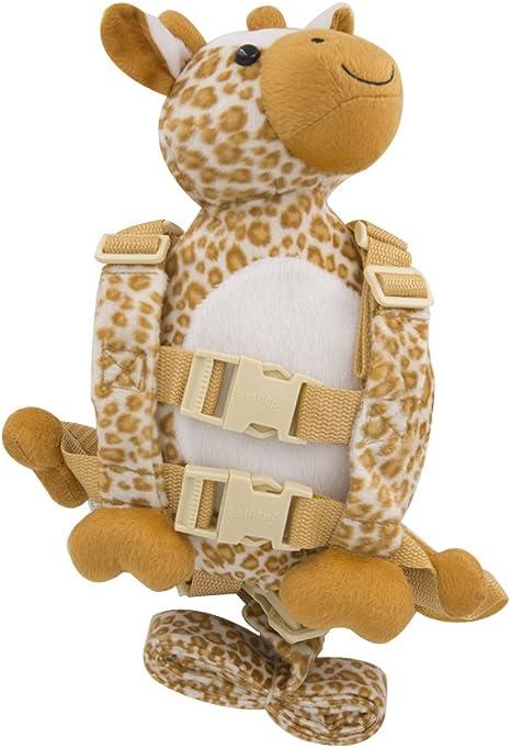 berhapy 2 en 1 jirafa infantil cartoon animal mochila bebé arnés ...