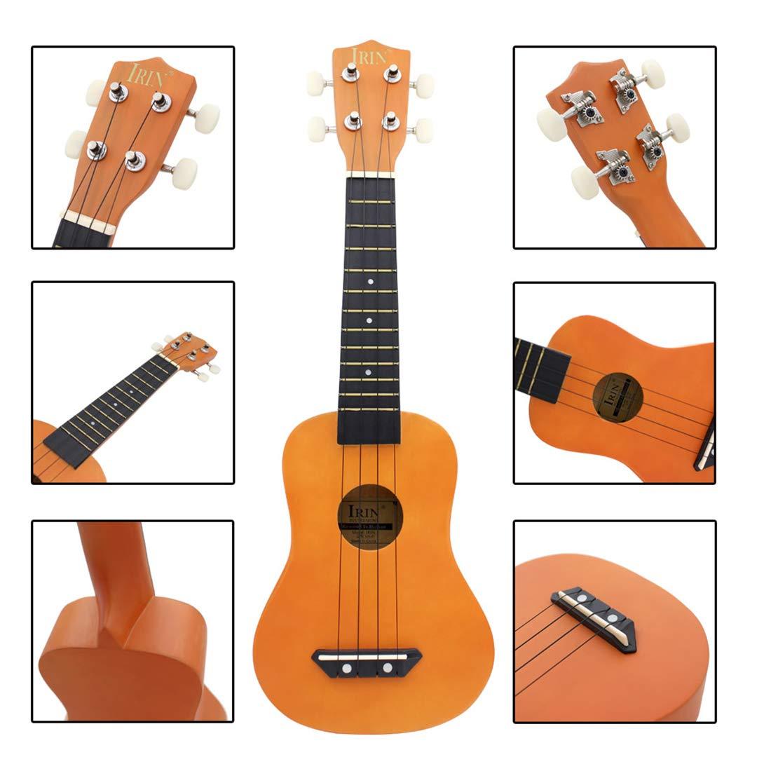 MRKE Ukelele Principiante Guitarra Niño Madera 21