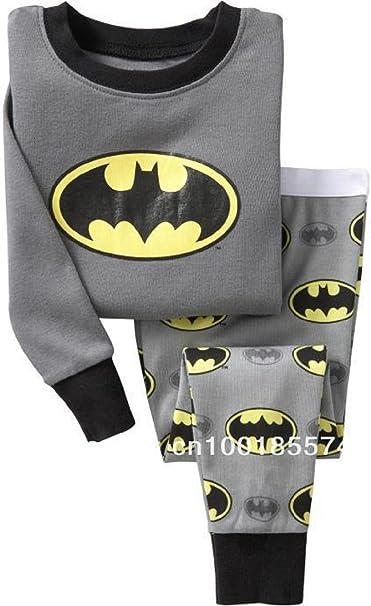 BOYS pijama infantil del BATMAN pijama 2 3 4 5 6 7 8 9 10 ...