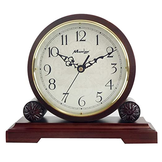 SUIBIANBA Reloj Creativo Retro Madera Tiempo Antiguo Cuarzo Reloj ...