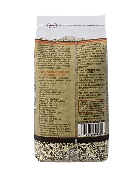 De Bob Red Mill Organic Quinoa grano: Amazon.com: Grocery ...