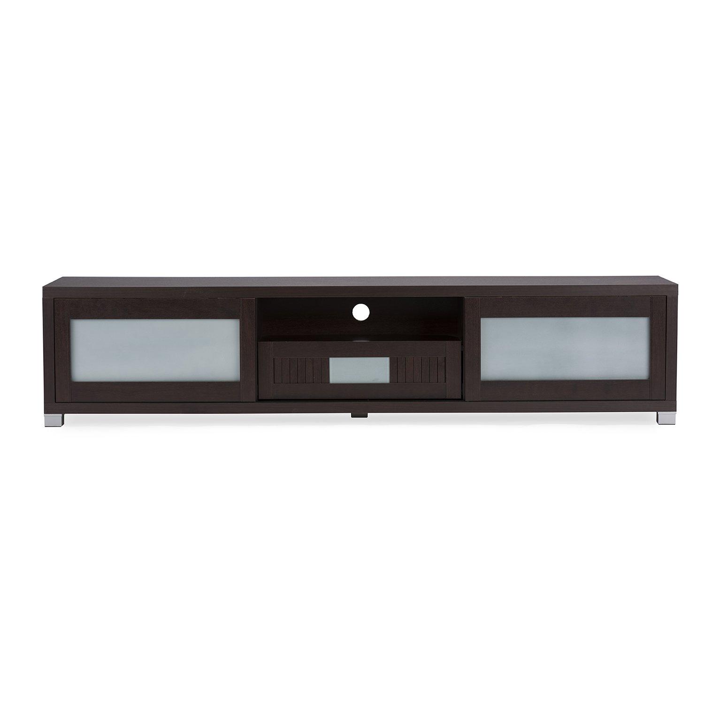 Amazon.com: Wholesale Interiors Baxton Studio Gerhardine Wood TV ...