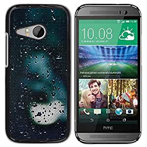 Paccase / SLIM PC / Aliminium Casa Carcasa Funda Case Cover para - Light Sad Dark Reflection - HTC ONE MINI 2 / M8 MINI