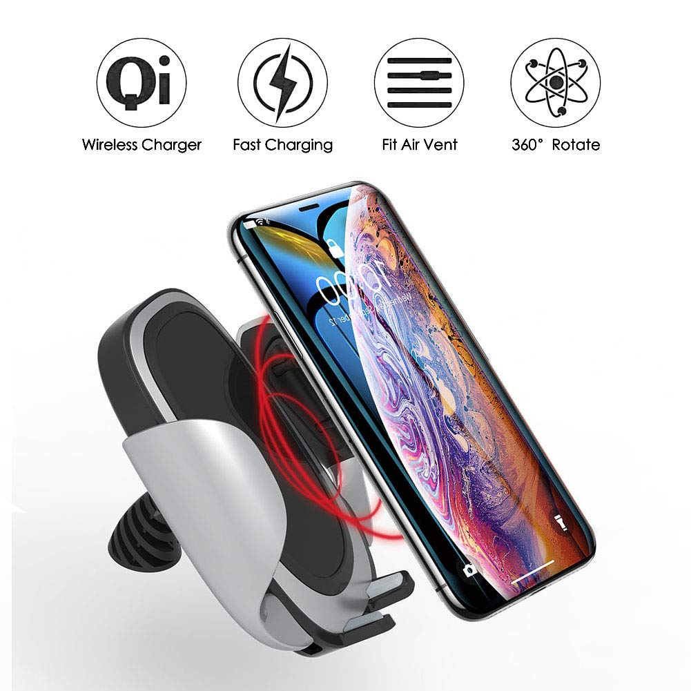 Dr Prepare 10w Wireless Fast Charge Car Charger For Samsung Galaxy Original S8 Plus Charging Note 8 S7