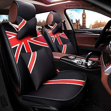 Juegos de cubreasientos Amortiguador del asiento de carro, invierno del cáñamo de la fibra cuatro