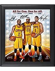 promo code e27b0 837df Cleveland Cavaliers Framed Big 3 (LeBron James, Kyrie Irving, Kevin Love)  15