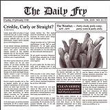 Fox Run 13200 Newsprint French Fry Paper