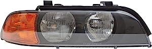 HEADLIGHTSDEPOT Chrome Housing Halogen Right Passenger Headlight Compatible With Holiday Rambler Scepter 2006-2011