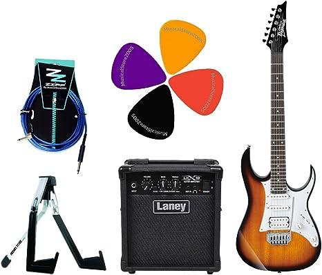 Ibanez Stratocaster Pack guitarra eléctrica/Combo Laney 10 W ...
