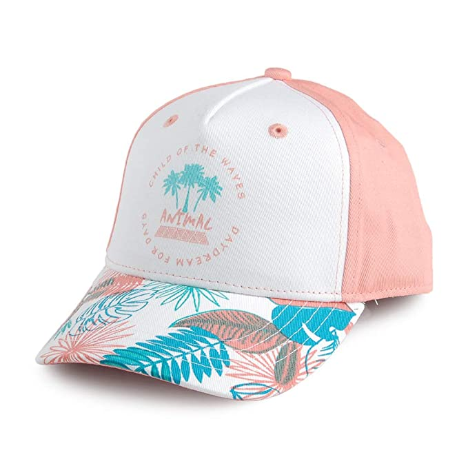 Animal Gorra de béisbol Infantil Blossom Blanco-Rosa  Amazon.es  Ropa y  accesorios 70c4e681a7a