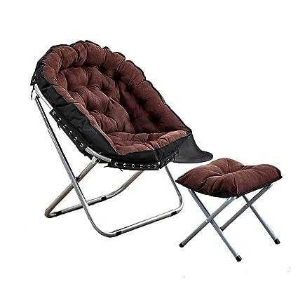 Phenomenal Amazon Com Folding Deck Chair Recliner Chairs Moon Chair Spiritservingveterans Wood Chair Design Ideas Spiritservingveteransorg
