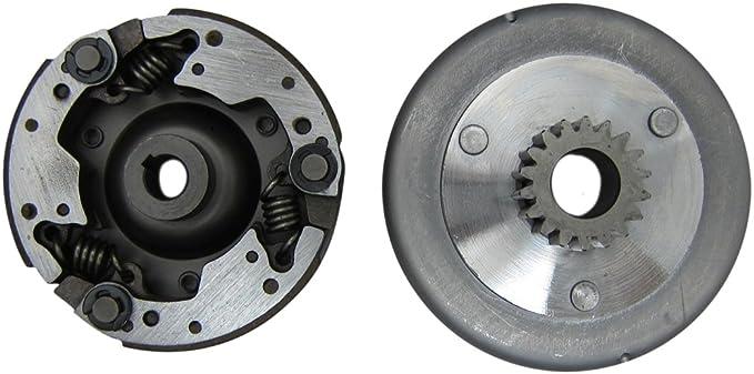 66//80cc Bullet Train Electric Start Engine Piston G Clip