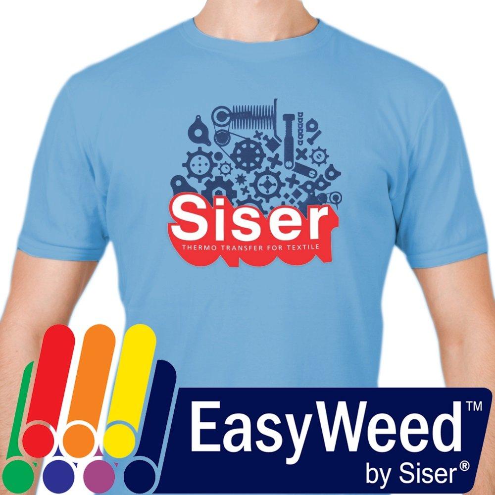 Siser EasyWeed HTV 11.8'' x 25ft Roll - Iron On Heat Transfer Vinyl (White) by SISER