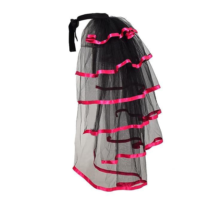 Vintage Burlesque Clothing, Costumes, Outfits GRACEART Victorian Steampunk Tie-on Bustle Costume Tutu Belt Lace Underskirt $25.99 AT vintagedancer.com