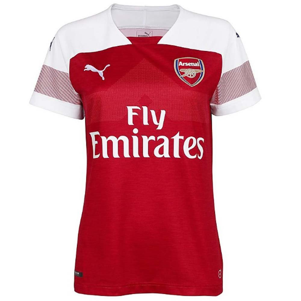 2018-2019 Arsenal Puma Home Ladies Football Soccer T-Shirt ...