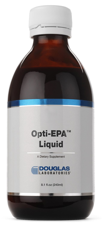 Douglas Laboratories - Opti-EPA Liquid - Omega-3 Fatty Acids to to Support Cardiovascular and Neurological Health* - 8.1 fl. oz. by Douglas Laboratories