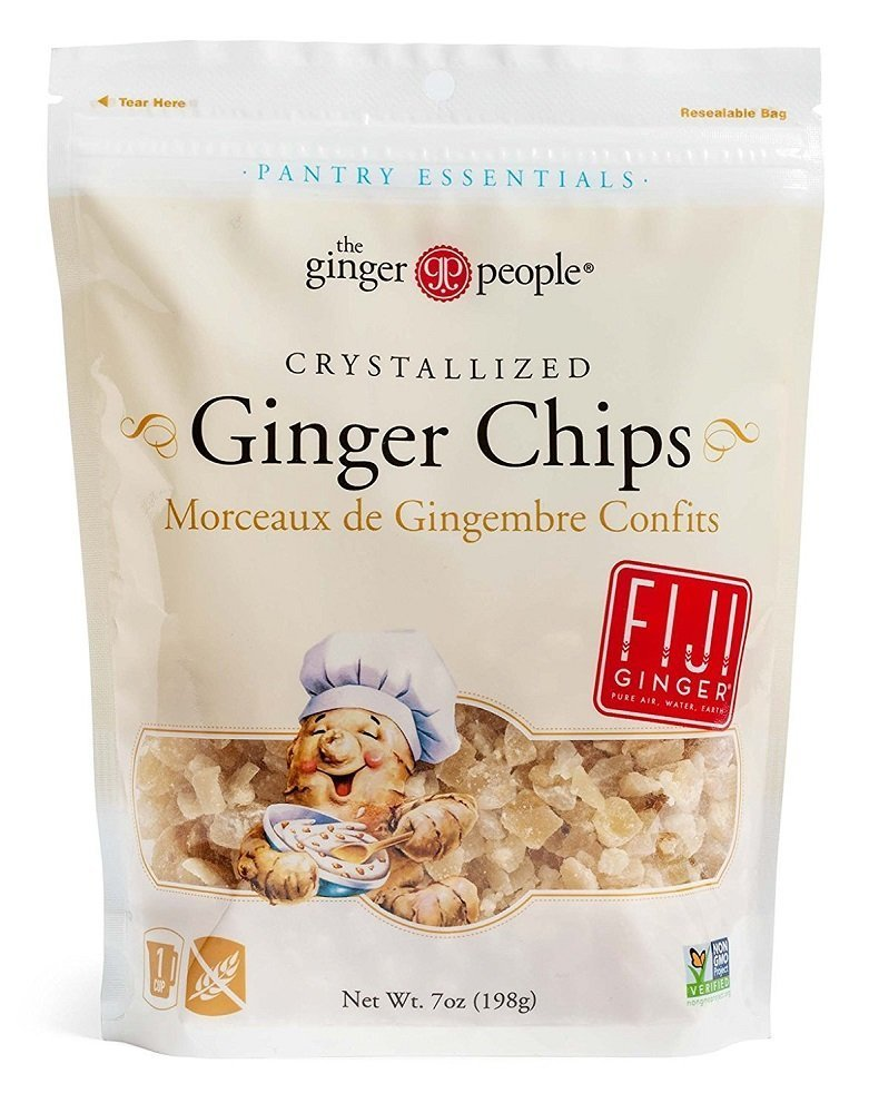 Crystallized Ginger Chips - 2pk - 7oz each