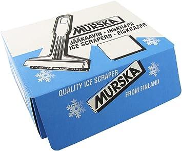 Myshopx Eiskratzer Eisschaber 2 Stück Original Aus Finnland Murska Mit Messingklinge Lange Version Auto