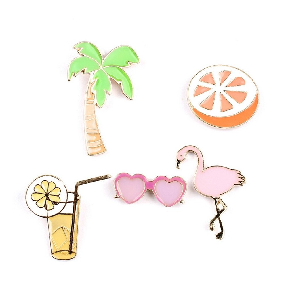 Onnea Enamel Brooch Pin Set Brooches Patches for Clothes/Bags/Backpacks FOMA XZ-001-002