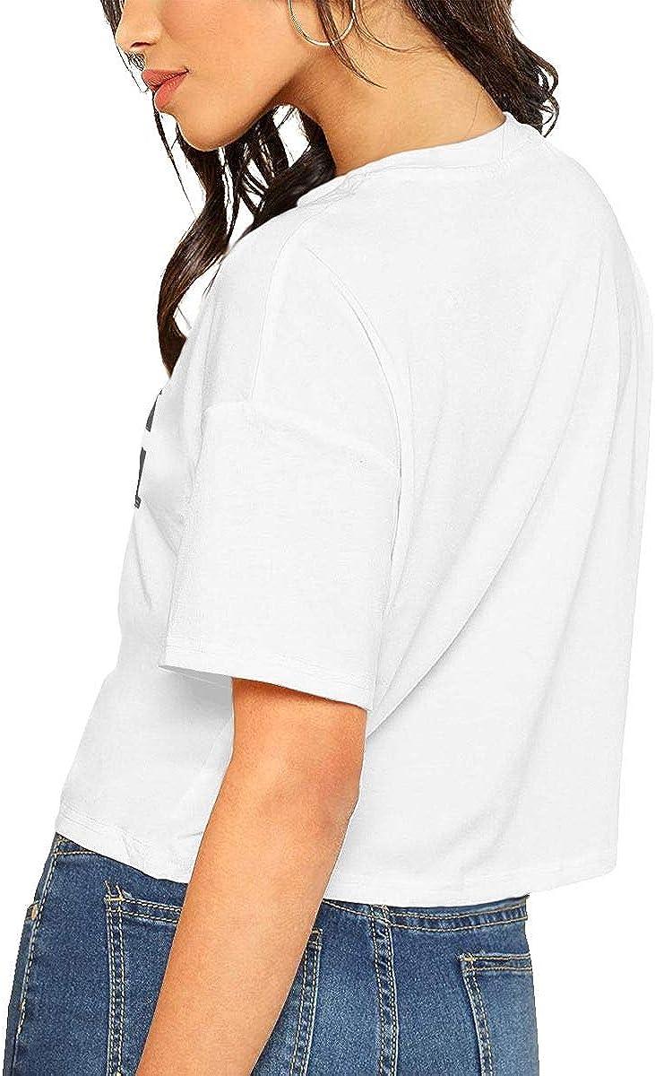 Seuriamin Sloth is My Spirit Animal Womens Summer Short Sleeve Leak Navel Crew Neck Shirts