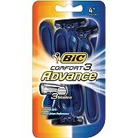 4-Pack BIC Comfort 3 Advance Men's Disposable Razor